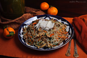 Japchae – Korean dish