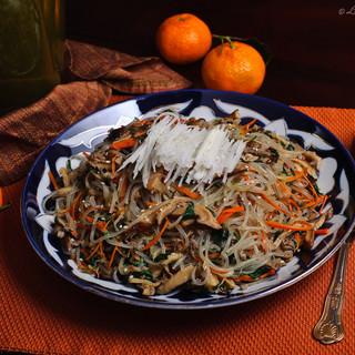 Japchae – Korean dish