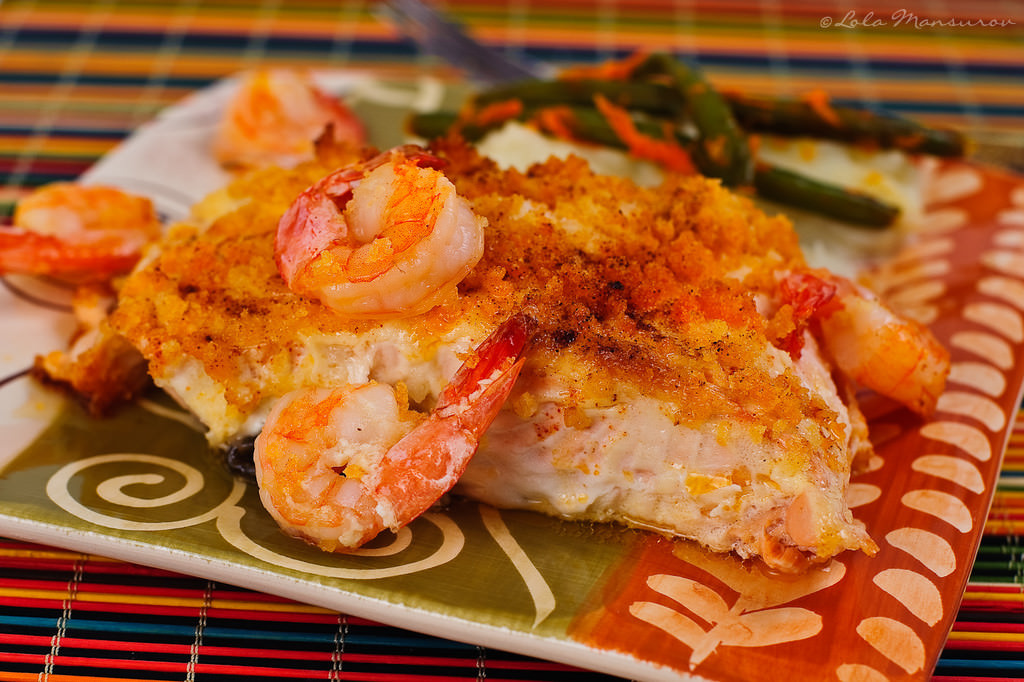 Baked salmon fillet recipe with bread crumbs for Fillet fish recipe