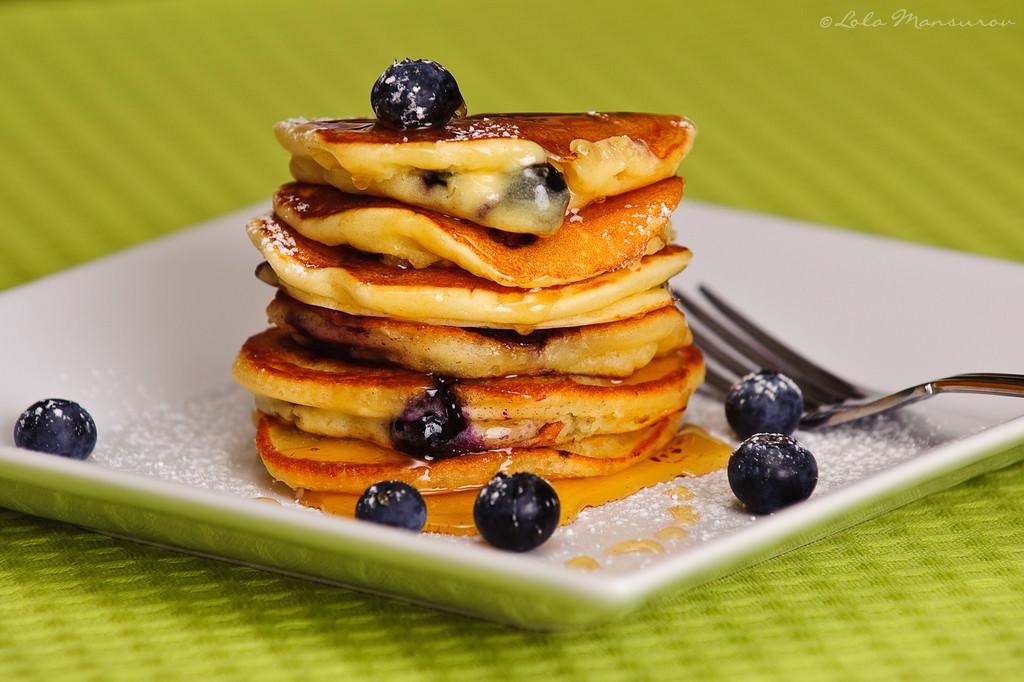 Blueberry Pancake Recipe - Tasty Arbuz