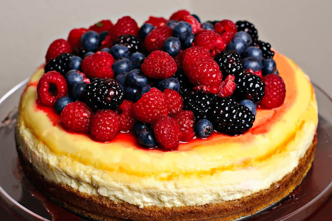 Berry Cheesecake Recipe