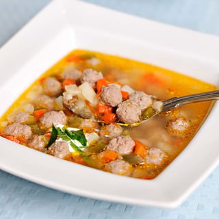 Pearl Meatball Soup Recipe