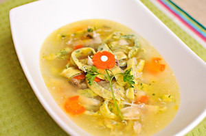 Egg Noodle Chicken Soup Recipe