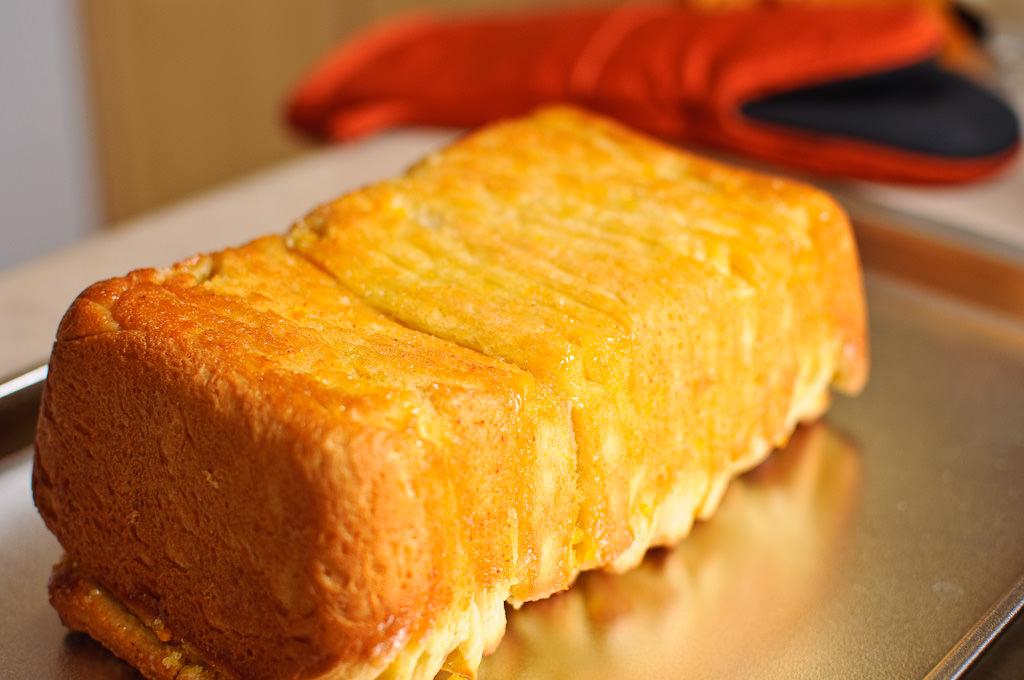 Lemon Scented Pull Apart Coffee Cake - Tasty & Healthy Arbuz