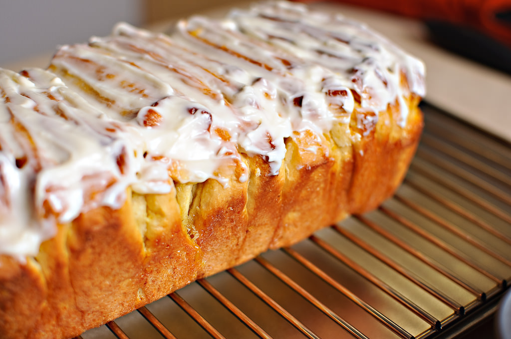 Lemon Scented Pull Apart Coffee Cake - Tasty & Healthy Arbuz