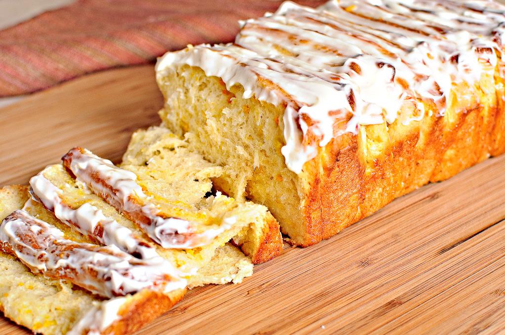 Lemon Scented Pull Apart Coffee Cake #57
