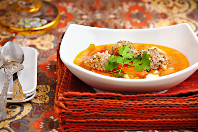 Meatball Soup main