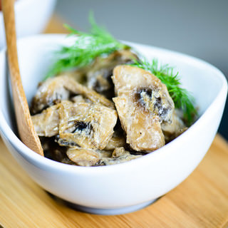 Sauteed Mushrooms in Cream Recipe