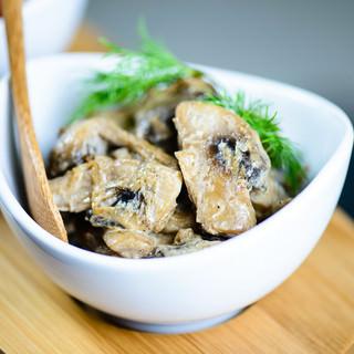 Mushrooms in Cream-100