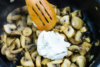 Sauteed Mushrooms in Cream-8