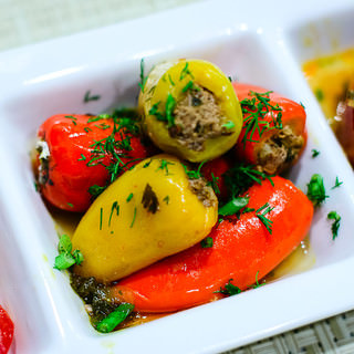 Stuffed Pepper with Ground Beef and Rice Recipe