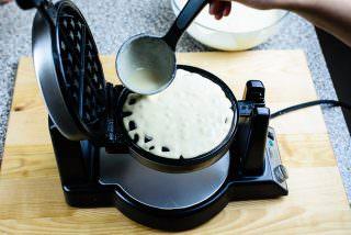 Crispy Waffle Recipe-9