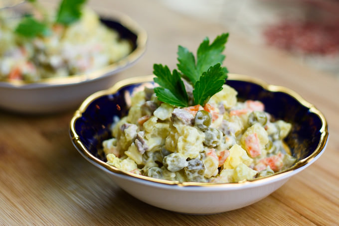 Russian Salad Recipe (1)