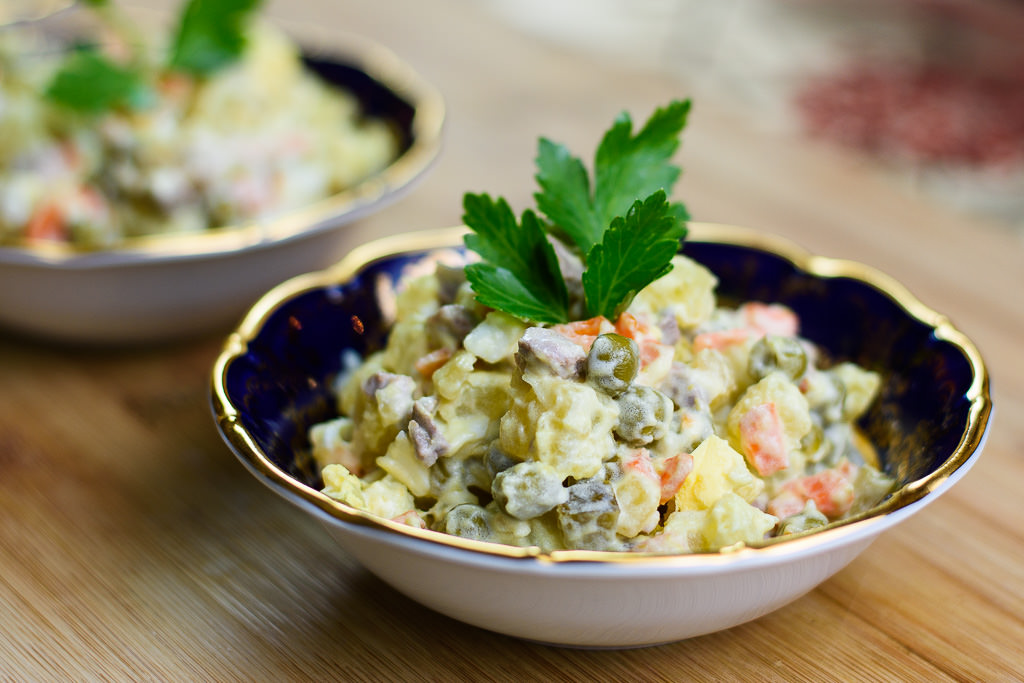 Russian salad recipe forumfinder Image collections