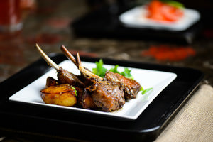 Seared Lamb Chops and Potatoes Recipe