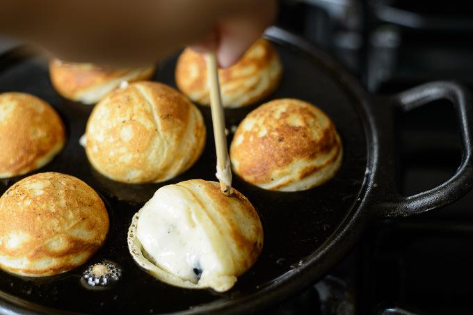 Aebleskiver Pancake Puffs Recipe