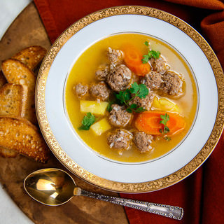 Easy Meatball Soup Recipe