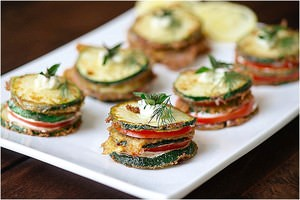 Zucchini Stackers Recipe
